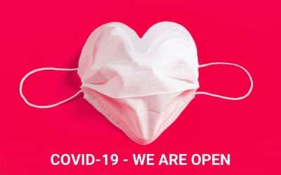 COVID 19 – We Are Open – Statement