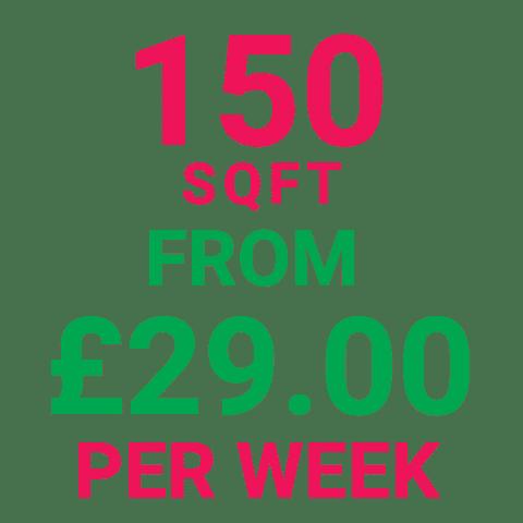 Storage Manchester 150SqFt Prices