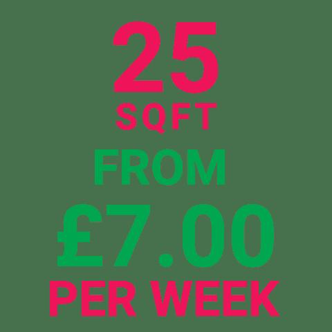 cStorage Manchester 25SqFt Prices