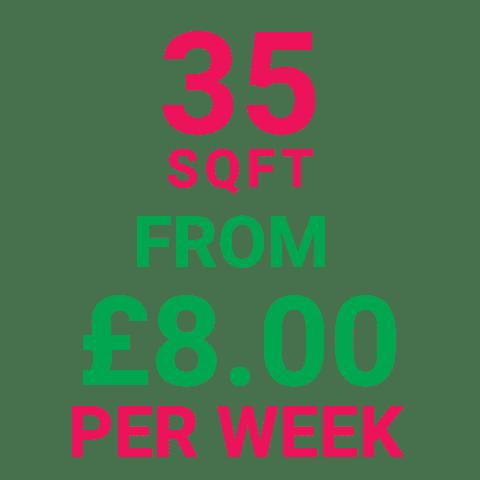 Storage Manchester 35SqFt Prices