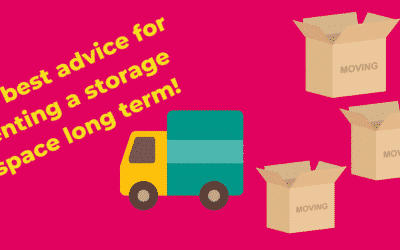 The best advice for renting a storage unit long term.